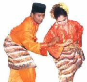 Malay traditional cultrue dance